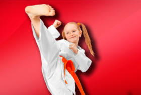 Karate For Kids Girl2 280x190 Karate for Kids
