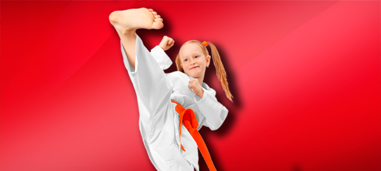 Karate For Kids Girl2 Engaging In Martial Arts To Combat Childhood Obesity
