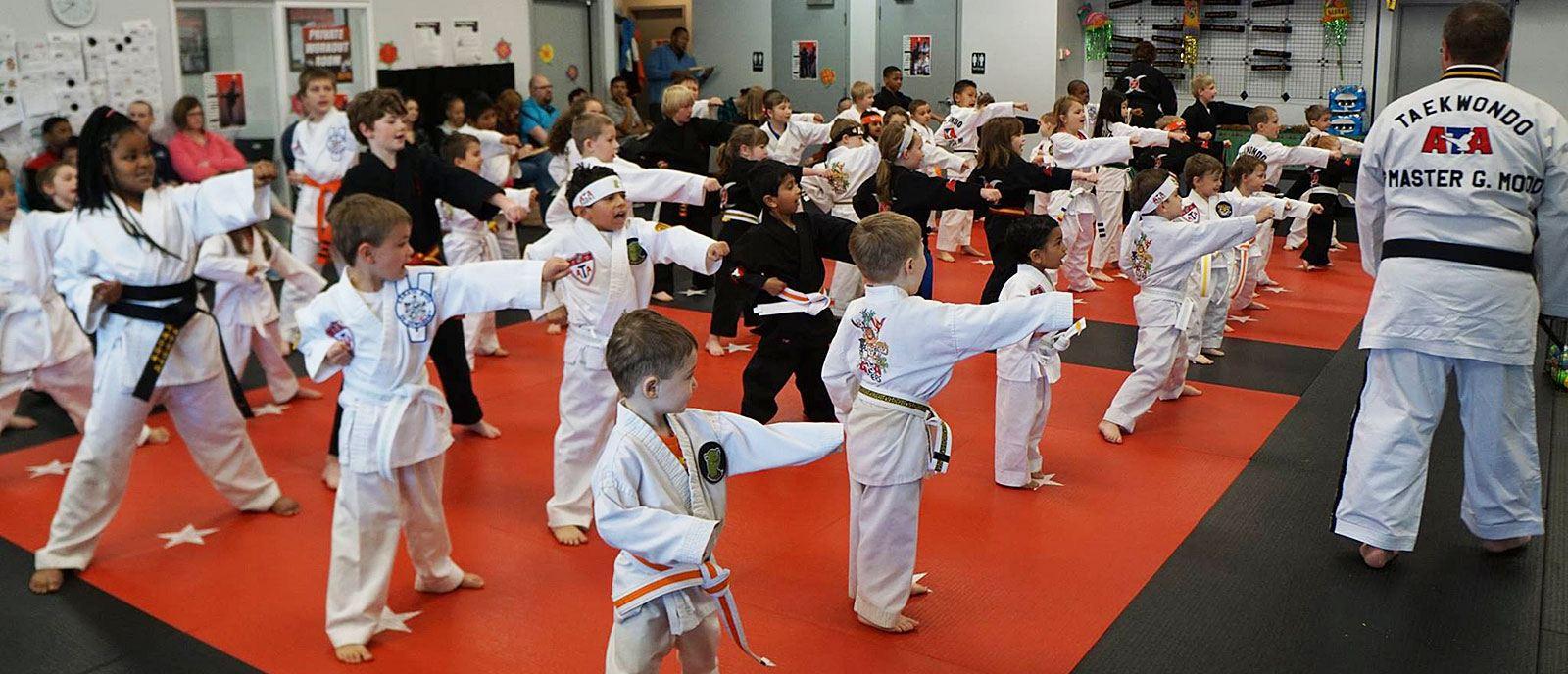 Karate Built Grand Rapids kids class